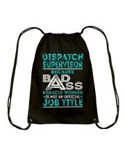 Dispatch Supervisor Drawstring Bag thumbnail
