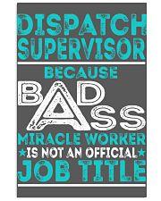 Dispatch Supervisor 11x17 Poster thumbnail