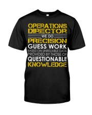 Operations Director Classic T-Shirt front