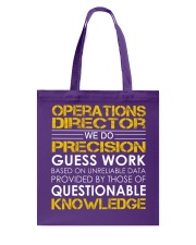 Operations Director Tote Bag thumbnail