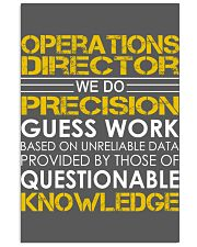 Operations Director 11x17 Poster thumbnail