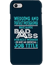 Wedding And Portrait Photographer Phone Case thumbnail