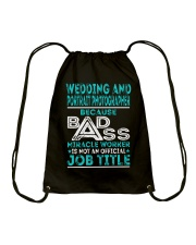 Wedding And Portrait Photographer Drawstring Bag thumbnail