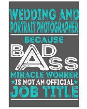 Wedding And Portrait Photographer 11x17 Poster thumbnail