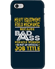 Heavy Equipment Field Mechanic Phone Case thumbnail
