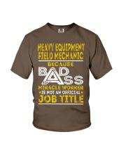 Heavy Equipment Field Mechanic Youth T-Shirt thumbnail