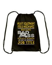 Heavy Equipment Field Mechanic Drawstring Bag thumbnail