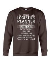 Logistics Planner Crewneck Sweatshirt thumbnail
