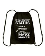 Pizza Maker Drawstring Bag thumbnail