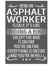 Asphalt Worker 11x17 Poster thumbnail