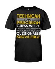 Technican Classic T-Shirt front