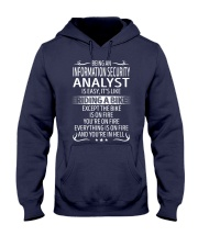 Information Security Analyst Hooded Sweatshirt thumbnail