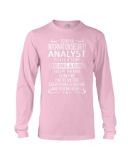 Information Security Analyst Long Sleeve Tee thumbnail