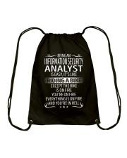 Information Security Analyst Drawstring Bag thumbnail