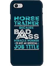 Horse Trainer Phone Case thumbnail