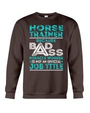 Horse Trainer Crewneck Sweatshirt thumbnail
