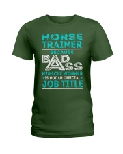 Horse Trainer Ladies T-Shirt thumbnail