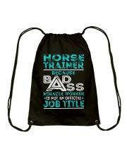 Horse Trainer Drawstring Bag thumbnail