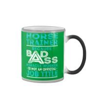 Horse Trainer Color Changing Mug thumbnail