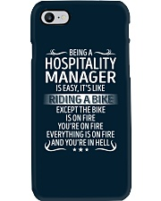 Hospitality Manager Phone Case thumbnail