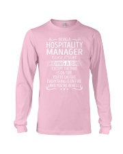 Hospitality Manager Long Sleeve Tee thumbnail