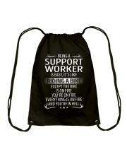 Support Worker Drawstring Bag thumbnail