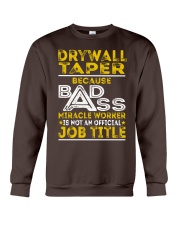 Drywall Taper Crewneck Sweatshirt thumbnail