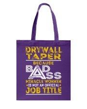 Drywall Taper Tote Bag thumbnail