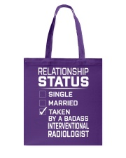 Interventional Radiologist Tote Bag thumbnail