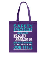 Safety Specialist Tote Bag thumbnail