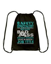 Safety Specialist Drawstring Bag thumbnail
