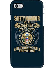 Safety Manager Phone Case thumbnail