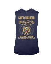 Safety Manager Sleeveless Tee thumbnail