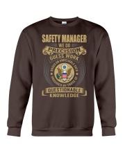 Safety Manager Crewneck Sweatshirt thumbnail