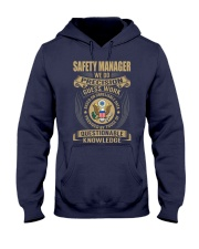 Safety Manager Hooded Sweatshirt thumbnail