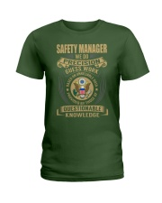 Safety Manager Ladies T-Shirt thumbnail