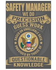 Safety Manager 11x17 Poster thumbnail