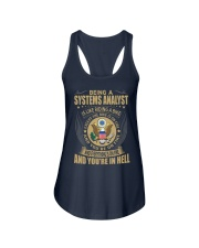 Systems Analyst Ladies Flowy Tank thumbnail