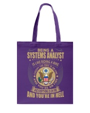 Systems Analyst Tote Bag thumbnail