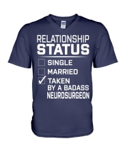 Neurosurgeon V-Neck T-Shirt thumbnail