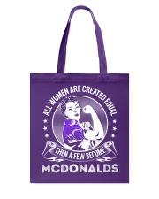 Mcdonalds Tote Bag thumbnail