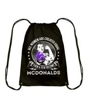 Mcdonalds Drawstring Bag thumbnail