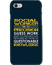 Social Worker Phone Case thumbnail