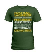 Social Worker Ladies T-Shirt thumbnail