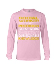 Social Worker Long Sleeve Tee thumbnail