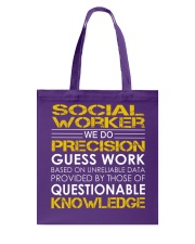 Social Worker Tote Bag thumbnail