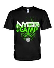NYCR Camp Growth Design V-Neck T-Shirt thumbnail