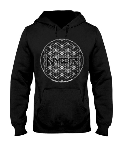 NYCRavers Flower of Life Hoodie - Cheddar