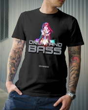 NYCRavers Drum and Bass Line Classic T-Shirt lifestyle-mens-crewneck-front-6