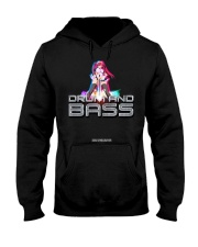 NYCRavers Drum and Bass Line Hooded Sweatshirt thumbnail